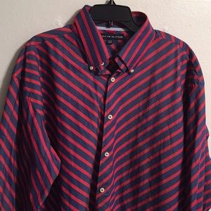 Tommy Hilfiger shirt striped size XL